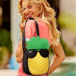 🌟HP🌟PINK Victoria's Secret Pineapple Lunch Bag